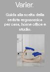 Varier Guida alla scelta di una seduta ergonomica