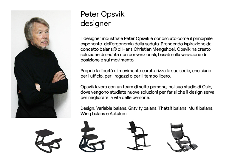 Peter Opsvik, design icon